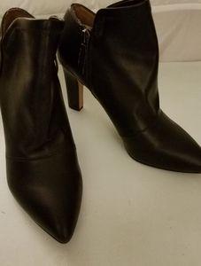 FRANCO SARTO NWOT Black Shoe Booties